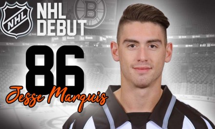 Linesman Jesse Marquis to Make NHL Debut in Boston