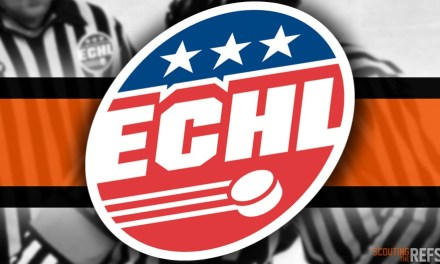 Tonight's ECHL Referees and Linesmen – 10/31/18