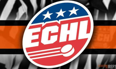 Tonight's ECHL Referees and Linesmen – 12/21/18