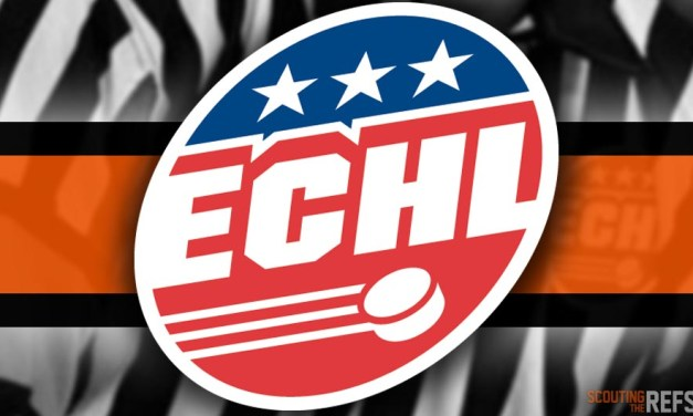 Tonight's ECHL Referees and Linesmen – 1/18/19