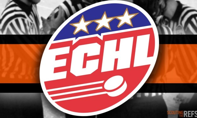 Tonight's ECHL Referees and Linesmen – 11/4/18