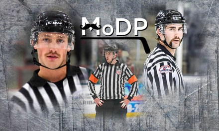USHL Officials Sporting 'Staches for Movember