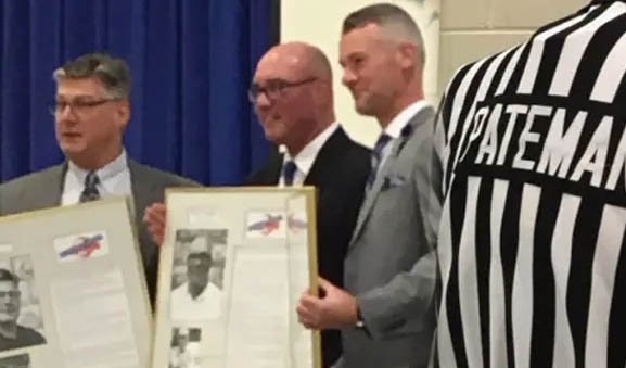Linesman Jerry Pateman Inducted into Chatham Sports Hall of Fame