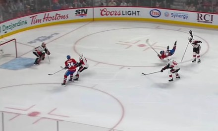 Habs' Diving Penalty on Lehkonen Rescinded Following Disallowed Goal