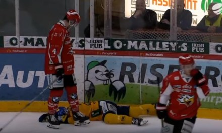 Finnish League Suspends Colby Robak Six Games for Illegal Hit