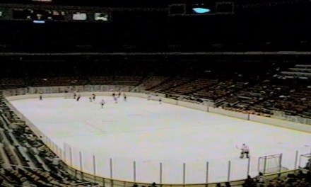 Linesman Recalls Devils' 1987 Snowstorm Game; 334 Fans Attended