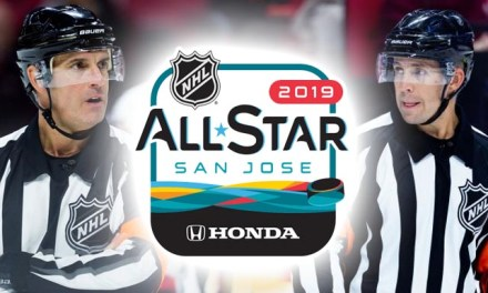 NHL Names Referees, Linesman for 2019 All-Star Game