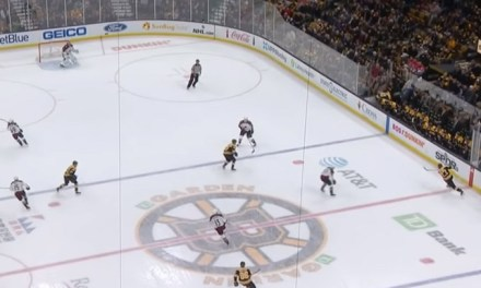 Bruins Goal Waved Off After Puck Deflects Off Curved Glass