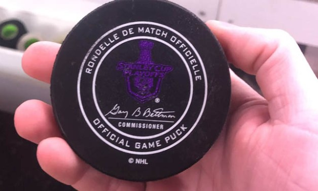 NHL Using Color-Changing Pucks for Stanley Cup Playoffs