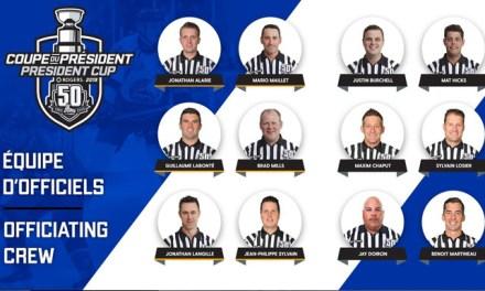 QMJHL Announces 2019 President Cup Final Officials