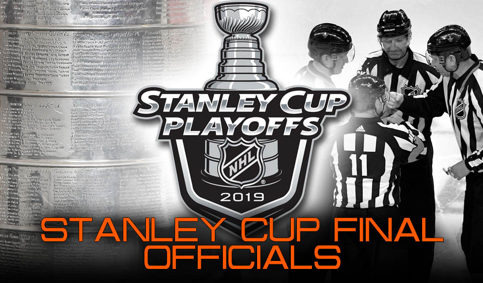 Nhl Referees And Linesmen For 2019 Stanley Cup Final Scouting The Refs