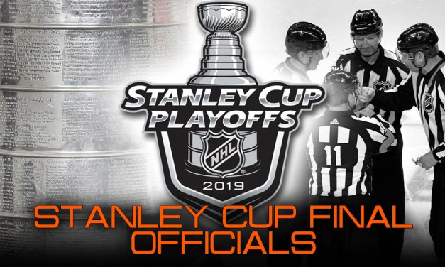 NHL Referees and Linesmen for 2019 Stanley Cup Final