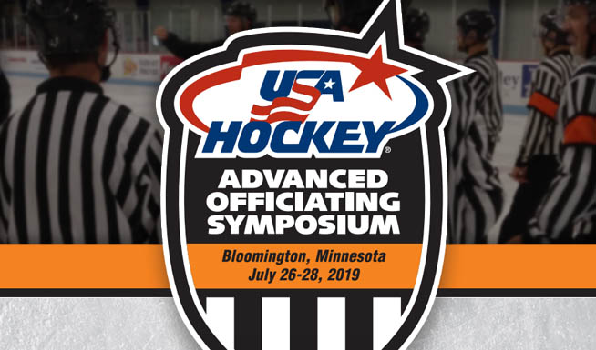 USA Hockey's Advanced Officiating Symposium Features NHL Refs, Linesmen