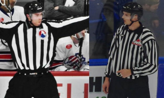 NHL Adds Linesmen Fournier and Toomey
