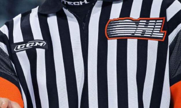 OHL Holds Officiating Camp, Recognizes Rutherford