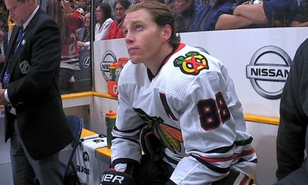 Blackhawks' Kane Curses at Ref, Picks Up Unsportsmanlike Conduct Penalty