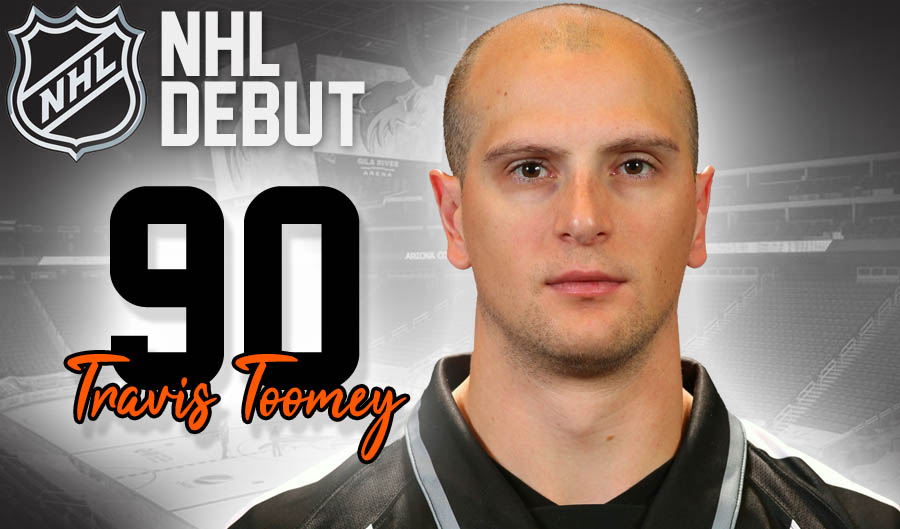 Linesman Travis Toomey to Make NHL Debut