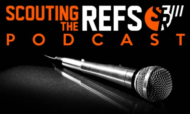 Scouting the Refs Podcast: Ep.8 – Injured Players, Spitting Ejections, and Pelvic Thrusts