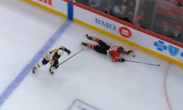 Blackhawks Goal Waved Off After Controversial Whistle For Hand Pass