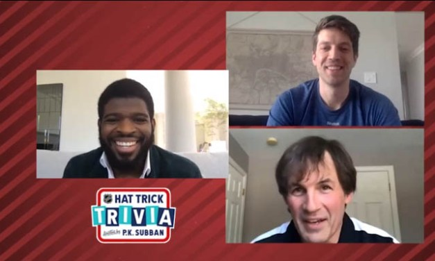 Referee Wes McCauley Joins P.K. Subban on NHL Hat Trick Trivia