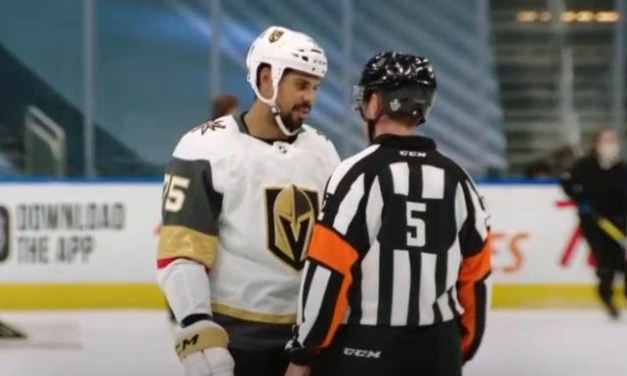 Mic'd Up: NHL Referees in Opening Rounds of the Stanley Cup Playoffs