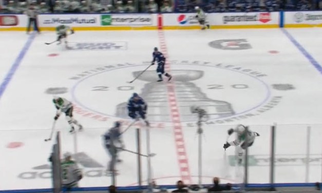 Tampa Bench Questions Possible Missed Icing on Stars Goal