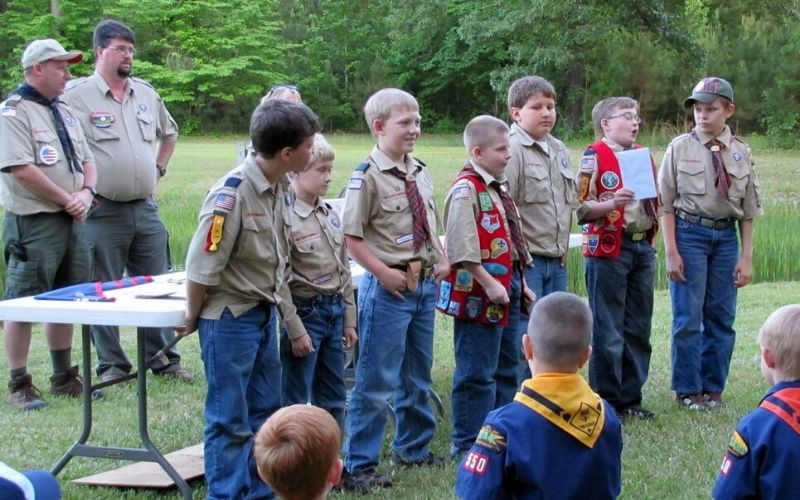 cub scout campfire skits and songs