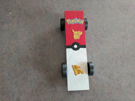 Pokemon car