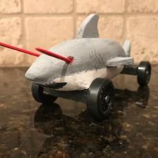 A shark. A shark with lasers!