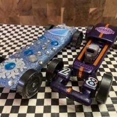 Frozen and Purple Rat Rod
