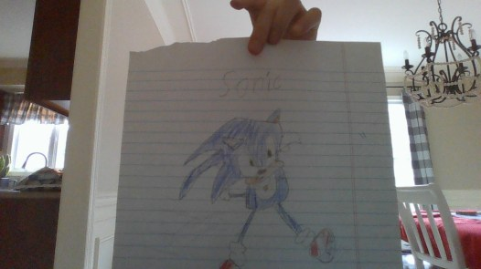 sonic's gotta go fast!!