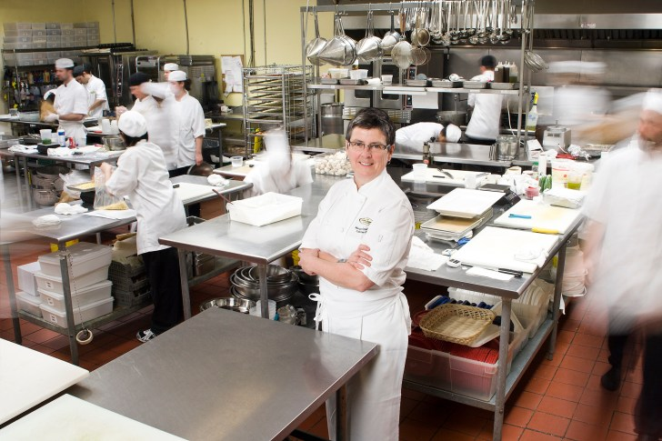 Executive Chef Margaret Chisholm Kitchen Credit John Watson