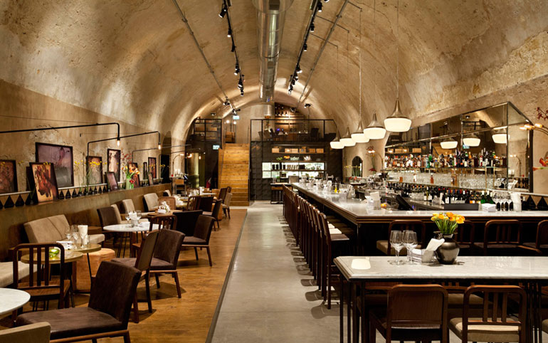Design furniture restaurant lounge