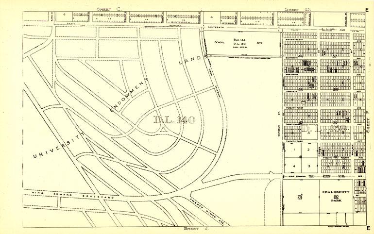 University-Endowment-Land-Map,-1945-(CVA-MAP-779-30)-