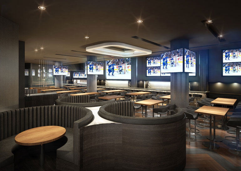 The Sportsbar' At Rogers Arena Set To Bring 600+ Seats Into