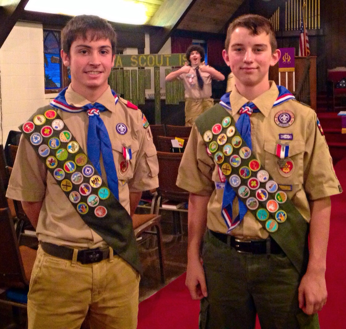 Eagle Court Of Honor Troop 155