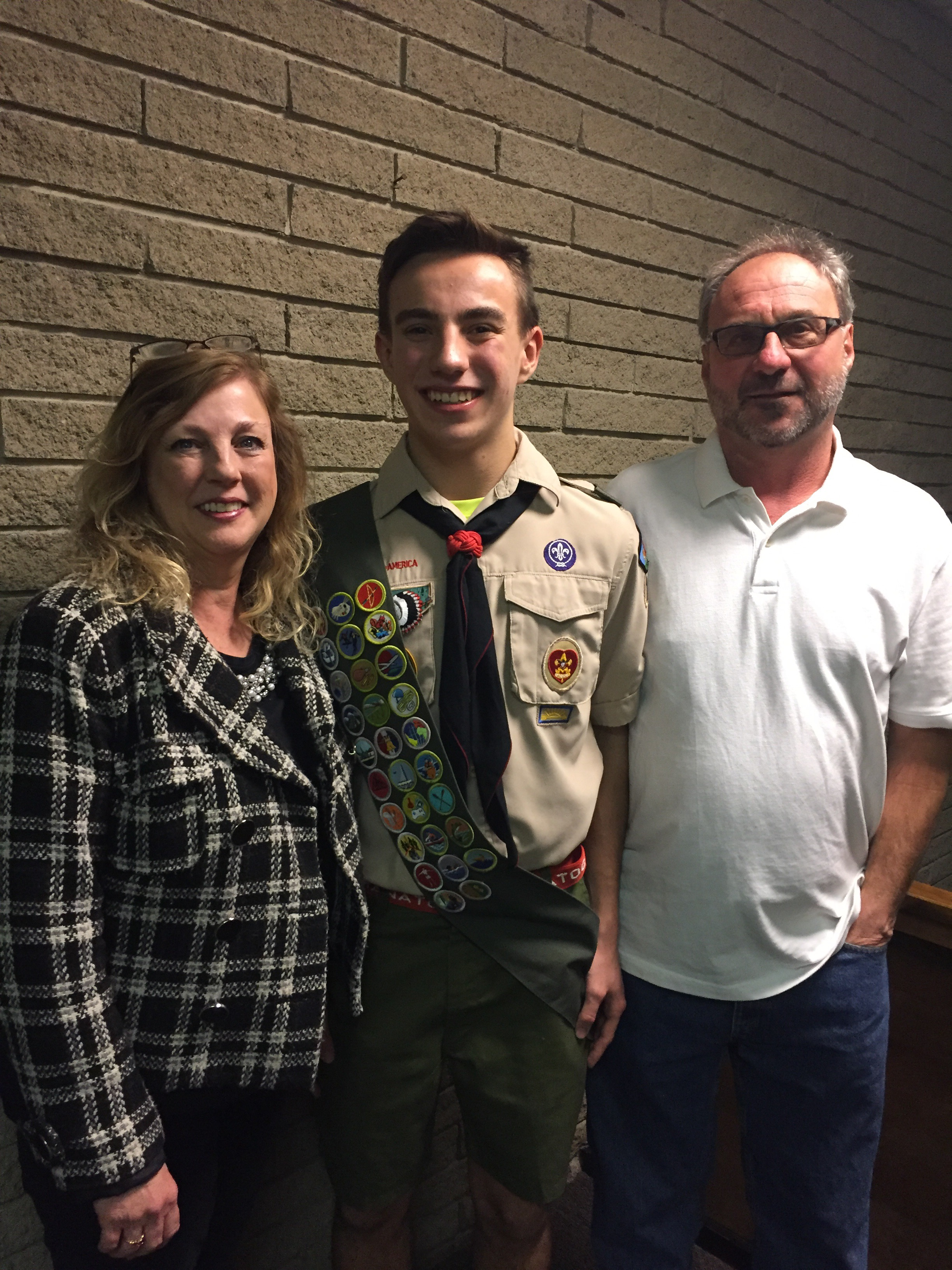 Congrats To Steven On His Eagle Board Of Review Scout