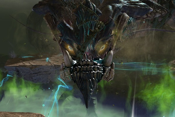 The Mouth of Mordremoth a Guild Wars 2 dragon world boss