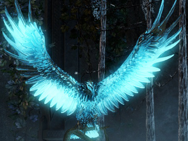 Raven totem in Guild Wars 2 Raven Sanctum
