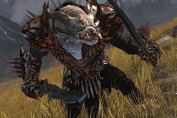 A Guild Wars 2 Charr Warrior