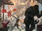 Hoelbrak loading screen for the Guild Wars 2 Dragon Bash festival