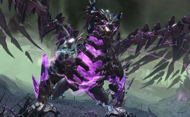 Shatterer a dragon world boss in Guild Wars 2