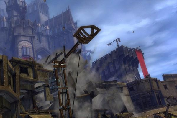 Stonemist Castle in Guild Wars 2 WvW map
