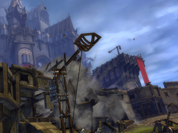 Stonemist Castle in Guild Wars 2 WvW map