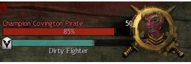 Screenshot of a breakbar in Guild Wars 2