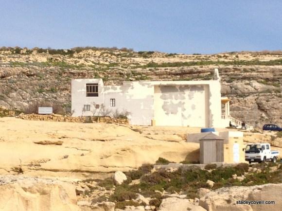 Church at Azure Window