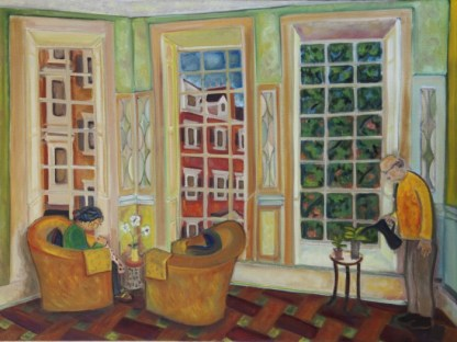Mr and Mrs George at Home