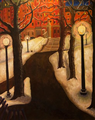 The Steps At Joy Street
