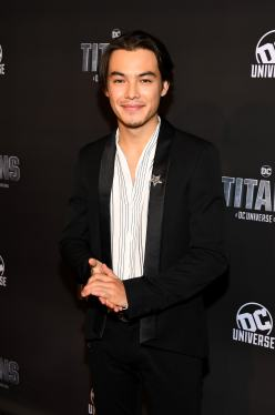 NEW YORK, NY - OCTOBER 03: Actor Ryan Potter attends DC UNIVERSE's Titans World Premiere on October 3, 2018 in New York City. (Photo by Dave Kotinsky/Getty Images for DC UNIVERSE)