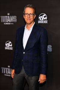 NEW YORK, NY - OCTOBER 03: Titan's Executive Producer, Greg Walker attends DC UNIVERSE's Titans World Premiere on October 3, 2018 in New York City. (Photo by Dave Kotinsky/Getty Images for DC UNIVERSE)